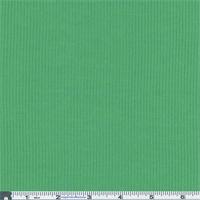 *2 1/2 YD PC--Green Rib Jersey Knit