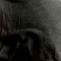 *3 YD PC--Black Rayon Sweater Knit