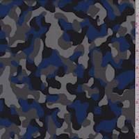 Stone/Ocean/Black Camo Peachskin