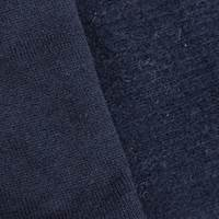Midnight Navy Brushed Texture Back Sweater Knit