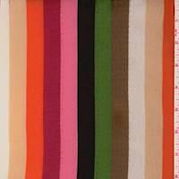 *3 3/4 YD PC--Multi Stripe Rayon Georgette