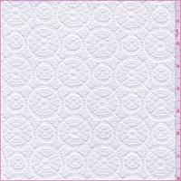 *4 5/8 YD PC--White Circular Crochet Lace