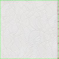 *4 1/8 YD PC--White Floral Lace