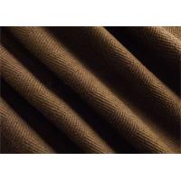 *3 YD PC--Coffee Brown Herringbone Twill Upholstery Fabric
