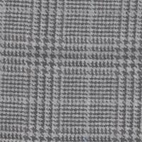 *2 3/4 YD PC--Black/Grey/Blue Glenplaid Suiting