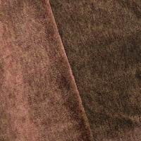Auburn Brown Textured Faux Fur