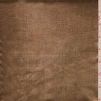 *1 1/2 YD PC--Copper Metallic Foil Denim