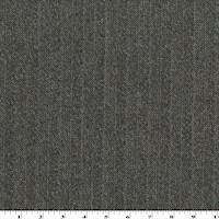 *3 1/2 YD PC--Brown/Gray Wool Tweed Stripe Herringbone Jacketing
