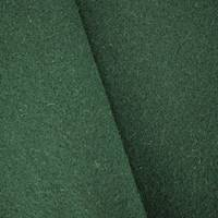 *1 1/8 YD PC--Forest Green Boiled Wool Blend Jacketing