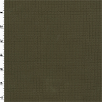 *3 1/8 YD PC--Green Single Sided Grid Fleece
