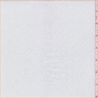 *2 YD PC--White Crinkled 2 Ply Knit