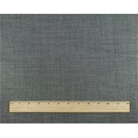 *1 1/2 YD PC--Grey Wool Blend Dobbie Woven