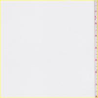 *1 1/8 YD PC--White Polyester Jersey Knit