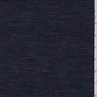 Dark Midnight Cotton/Linen Blend
