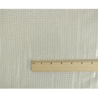 *3 5/8 YD PC--Daisy White Sequin Silk/Cotton Batiste