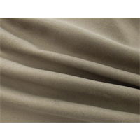 *1/2 YD PC--Almond Gray Gabardine Flannel