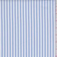 Powder Blue/White Stripe Shirting