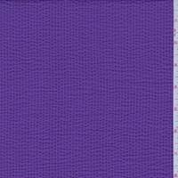 *1 3/4 YD PC--Grape Purple Seersucker