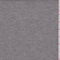 Heather Grey Scuba Knit