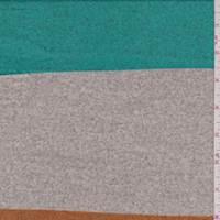 Green/Grey/Orange Stripe Sweater Knit