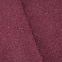 *4 3/4 YD PC--Vampire Red Texture Wool Blend Sweater Fleece
