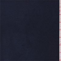 *2 3/8 YD PC--Navy Polyester Fleece