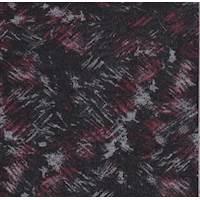 Black/Ruby Brushstroke Sweater Knit