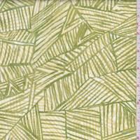 Lime/Yellow Block Cotton Poplin