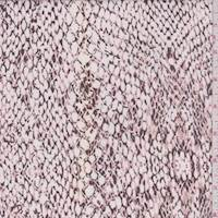 Rose/Ivory Snakeskin Rayon Challis