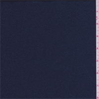 *3 1/2 YD PC--Carbon Blue Hammered Satin Charmeuse