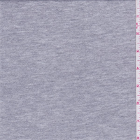 *1 5/8 YD PC--Metallic Silver Jersey Knit
