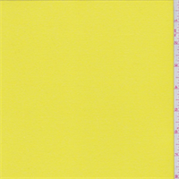 *2 3/4 YD PC--Vibrant Yellow Lightweight Activewear