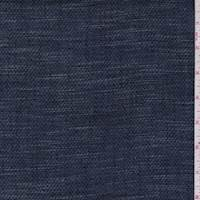 Dark Denim Blue Birdseye Pique Suiting
