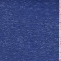 *2 3/4 YD PC--Ink Blue Slubbed Sweater Knit