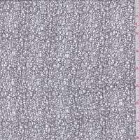 *1 1/2 YD PC--Metallic Metal Grey Mesh