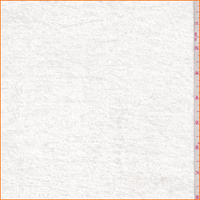 *2 1/2 YD PC--Ivory Panne Velour
