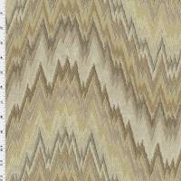 *1/2 YD PC--Brown/Beige Contemporary Jacquard Home Decorating Fabric