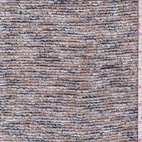 *2 7/8 YD PC--Copper/Ivory Boucle Knit