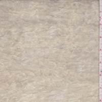 Buff Panne Velvet Knit