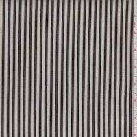 Natural/Black Ticking Stripe Denim
