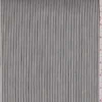 Ivory Stripe Denim