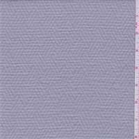 *2 YD PC--Misty Grey Semi-Sheer Stripe Shirting