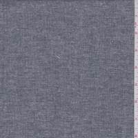 *2 3/8 YD PC--Off Black Cotton Chambray