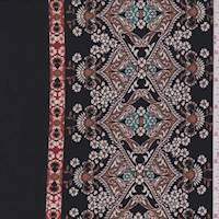 Mocha/Black Moroccan Jersey Knit