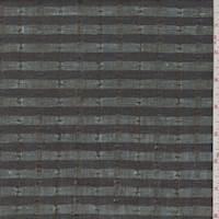 *1 1/4 YD PC--Navy/Sky Stripe Linen