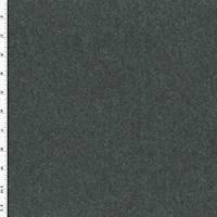 *3 1/2 YD PC--Night Storm Gray Wool Blend Jacketing