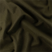 *3 1/8 YD PC--Army Brown Brushed Tricot
