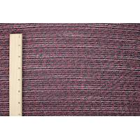 *5 3/8 YD PC--Metallic Pink/Blue/Multi Texture Tweed Jacketing