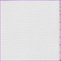 *1 YD PC--White Rayon Mesh Knit