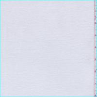 *3 5/8 YD PC--White Ribbed T-Shirt Knit